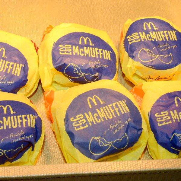 McDonald'sEgg McMuffins (Associated Press)